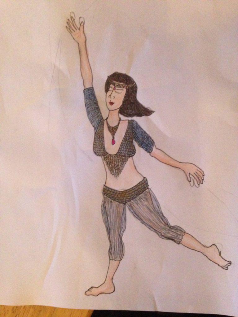Dancer source sketch