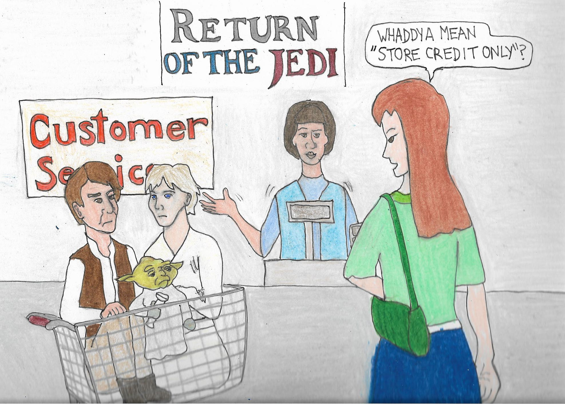 Reurn of the Jedi