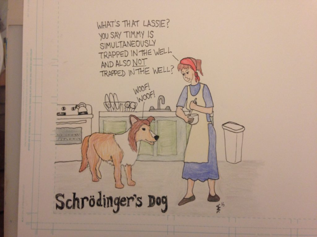 Schrodingers Dog