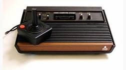 Now consider old pictures. We have pictures of us, and those we can relate to; remember Atari?